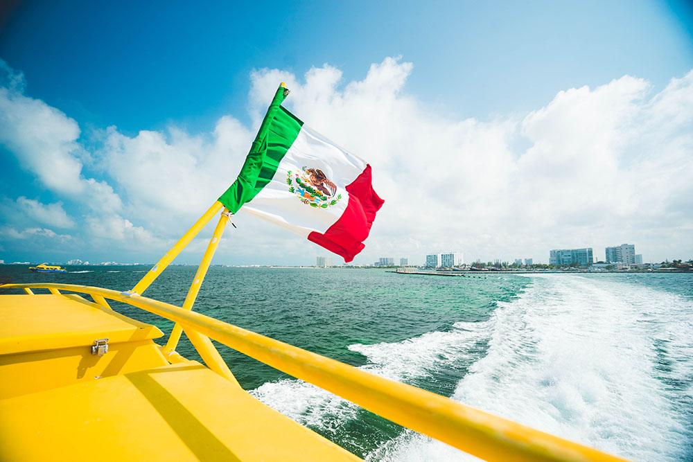 Mexikansk Karibien börjar ny turistskatt den 1 april