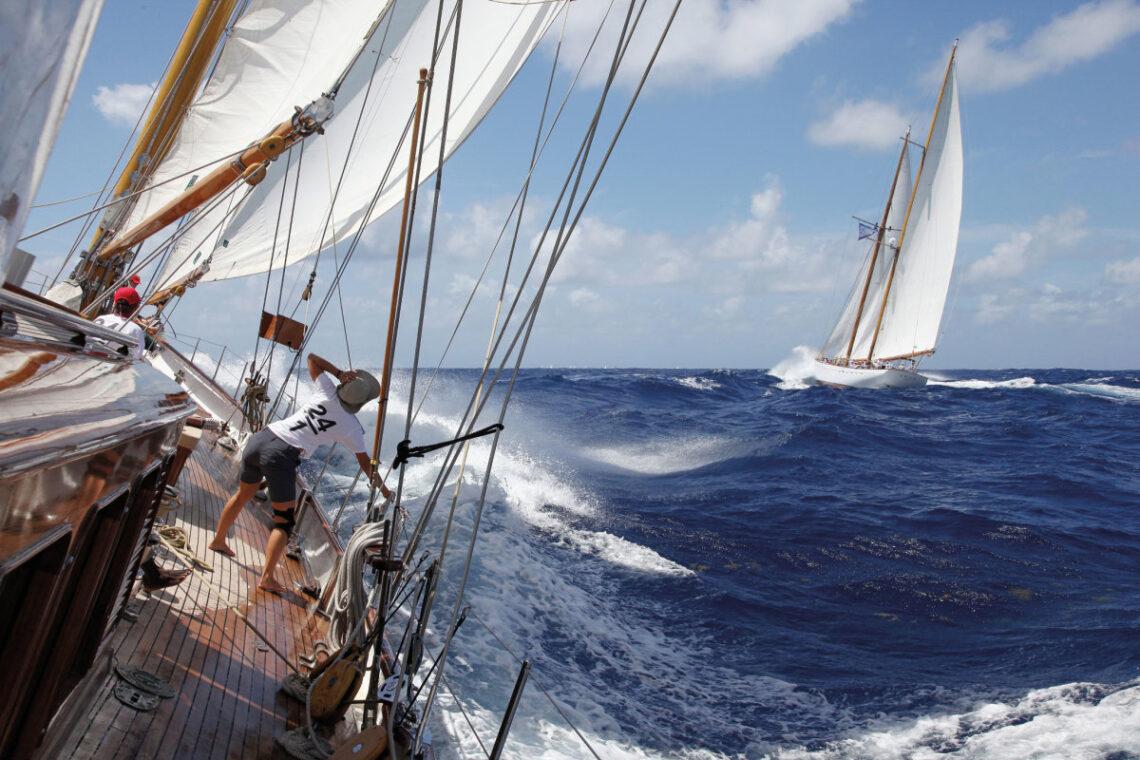 I-2021 Antigua Classic Yacht Regatta irhoxisiwe