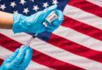 Americae LVII% of non-XIX COVID reddere movere in linea vaccination
