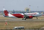 FlyArystan pligrandigas sian floton Airbus A320