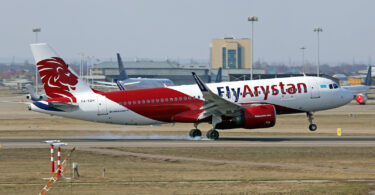 FlyArystan expands its Airbus A320 fleet