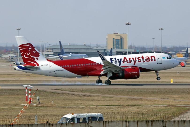 FlyArystan amplía su flota de Airbus A320