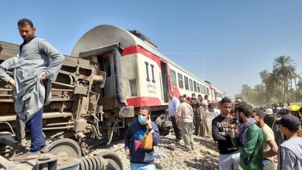 Եգիպտոսում երկու գնացքների վթարից 32 մարդ զոհվեց, 66-ը վիրավորվեցին