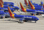 Southwest Airlines ordigas 100 problemajn aviadilojn Boeing 737 MAX