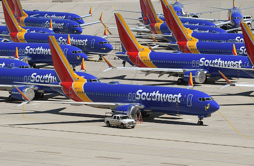 Southwest Airlines tilaa 100 levottomaa Boeing 737 MAX -suihkua