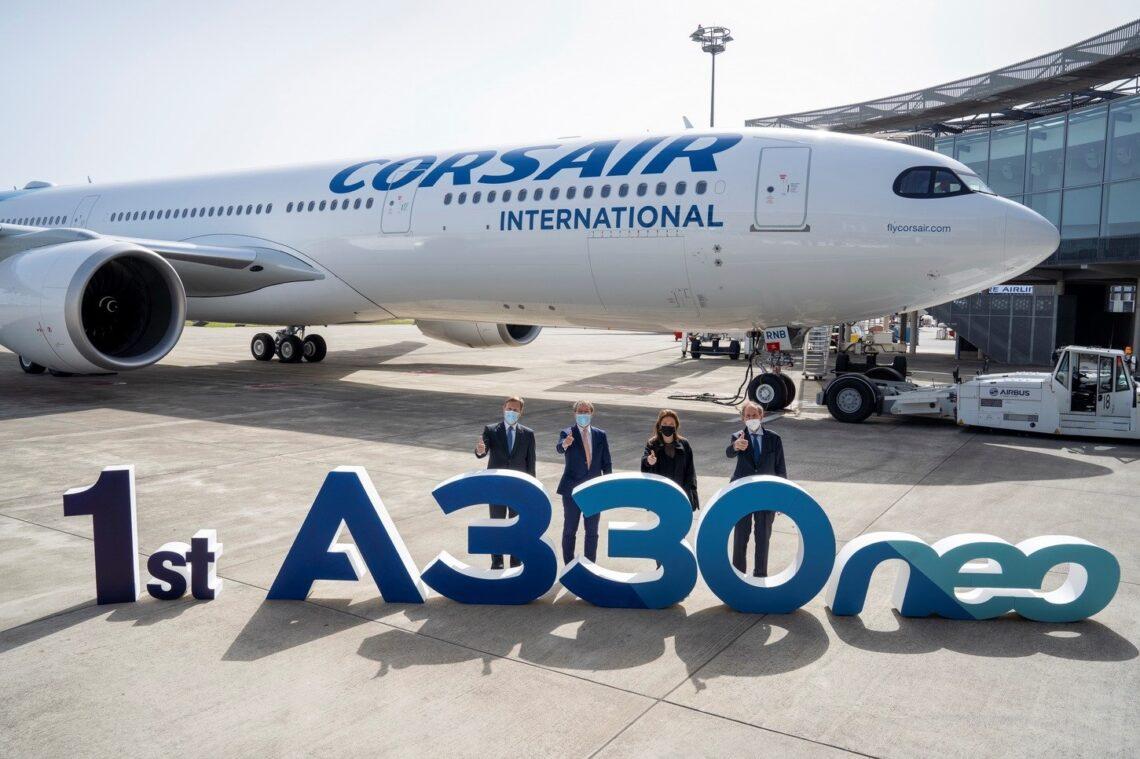 شركة كورسير تتسلم أول طائرة إيرباص A330neo