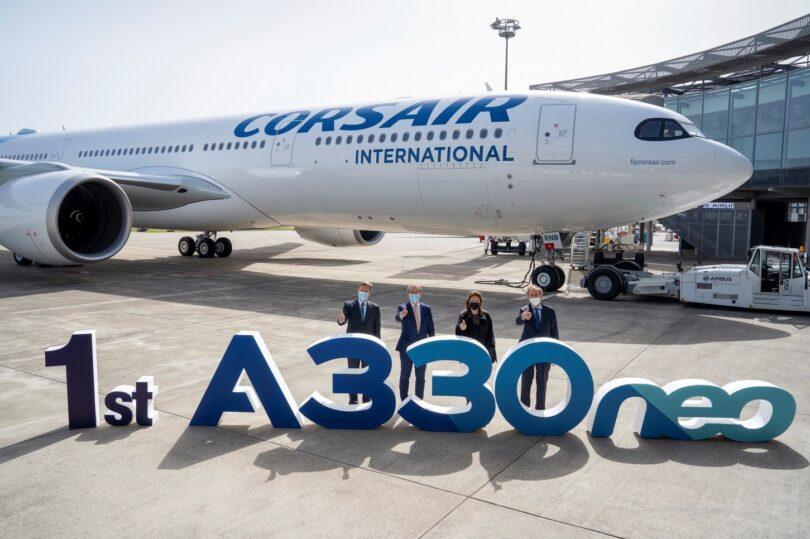 Corsair доставя първия си Airbus A330neo