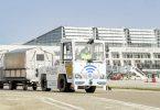 Aeroportul Stuttgart testează remorcherul de bagaje cu conducere automată