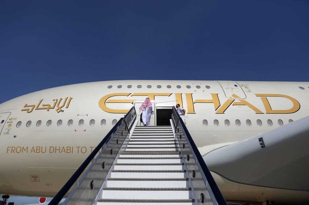 Etihad Airways: Lavere etterspørsel og flykapasitet, 76% færre passasjerer i 2020