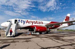 FlyArystan nis shërbimin ndërkombëtar nga Turkistan në Stamboll
