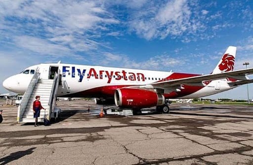 FlyArystan lancerer international service fra Turkistan til Istanbul