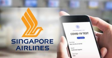 Singapore Airlines testet den COVID-19-Pass auf Flügen nach London