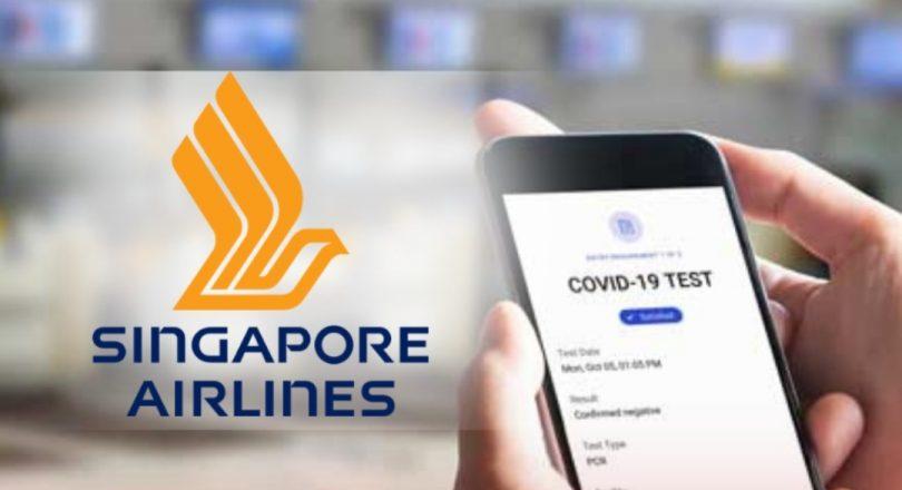 Singapore Airlines hitsapana ny 'pasipaoro COVID-19' amin'ny sidina London