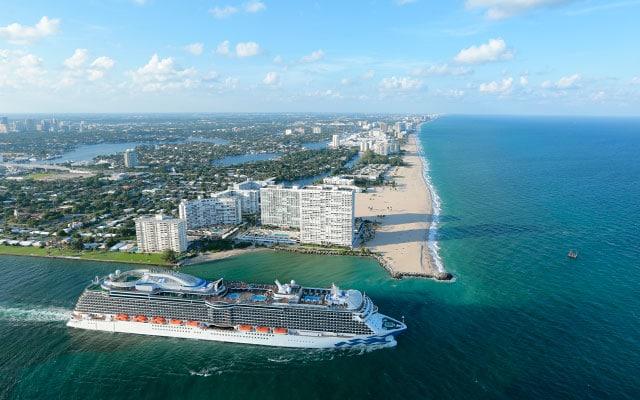 تمدد Princess Cruises توقف الرحلات البحرية من لوس أنجلوس ، فورت. لودرديل وروما