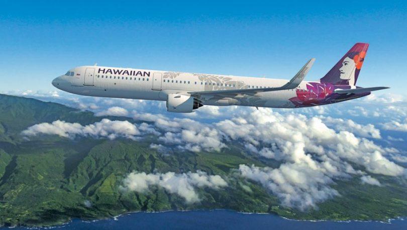 Hawaiian Airlines lanĉas Long Beach-Maui-servon