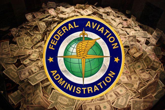 FAA amin'ny mpandoa $ 14,500 XNUMX amin'ny onitra amin'ny fanelingelenana ireo mpikarakara ny sidina
