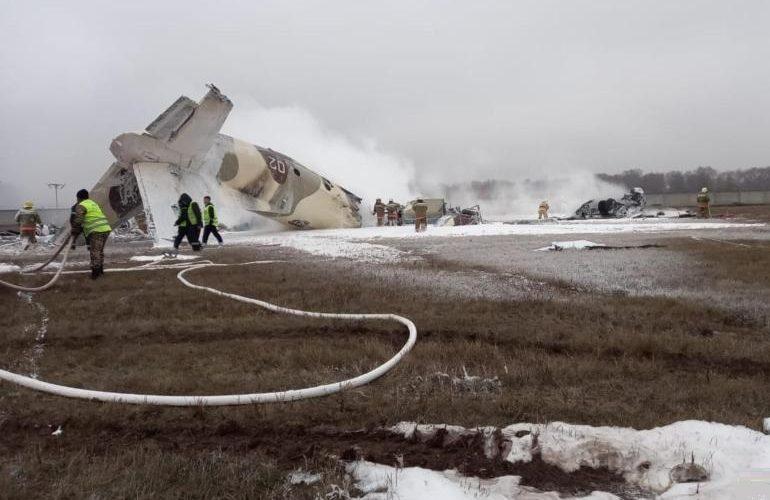 4 pessoas mortas em acidente de avião no Cazaquistão