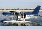 Wisata pesawat amfibi India