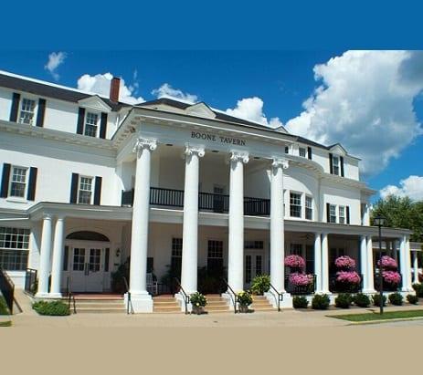 aaa hold boone tavern hotel