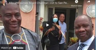 Kunjungan Ketua Dewan Pariwisata Afrika menyang San Pedro, Pantai Gading nggawa semangat lan pangarep-arep