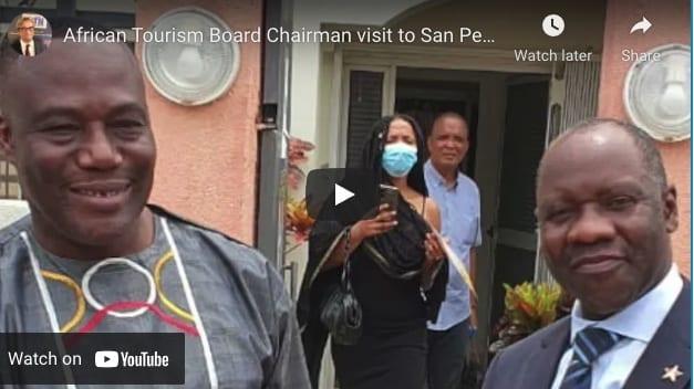 コートジボワールのサンペドロへのアフリカ観光局会長の訪問は興奮と希望をもたらします