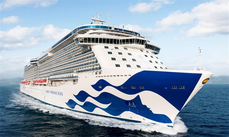 プリンセスクルーズはサウサンプトンの航海でクルーズの一時停止を延長します