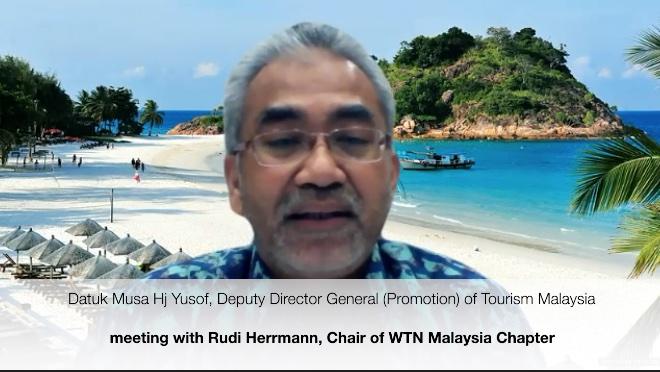 Maleizje Toerisme skopt en beweecht