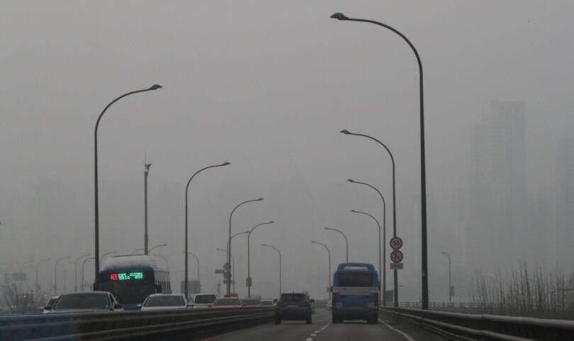 Etelä-Korea on nyt osa Gobin aavikkoa