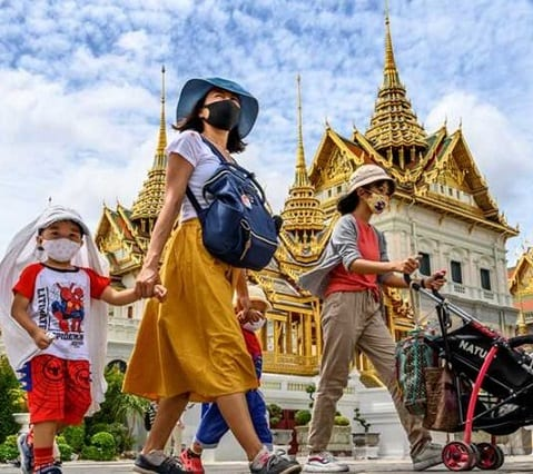 Karakarain'ny dia Thai: hifidy amin'ny andro fampihenana ny governemanta