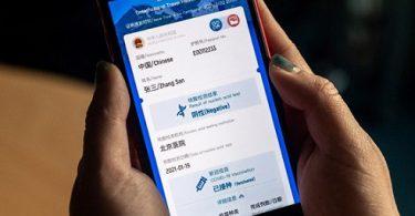 Chinas erstes Land der Welt, das den Green Virus Passport eingeführt hat