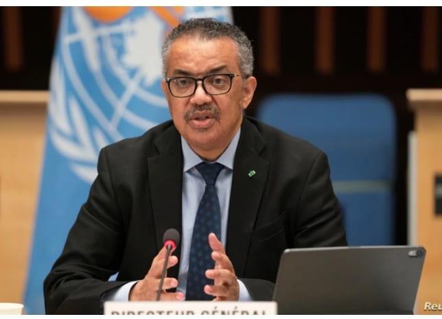 Transkriptio: WHO: n pääjohtaja vetoaa kiireellisesti kaikkiin YK: n suurlähettiläihin New Yorkissa