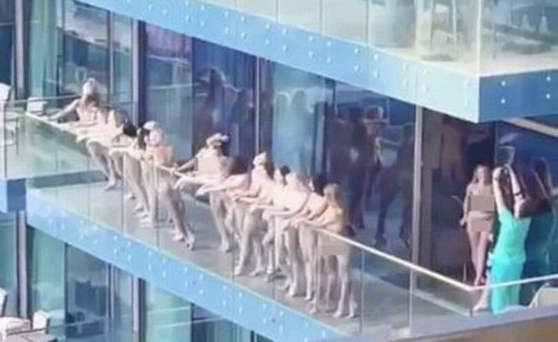 No prison: Dubai naked photoshoot models will be deported from UAE
