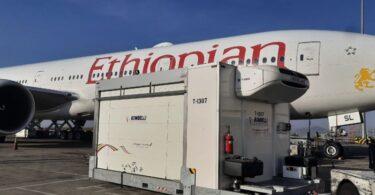 Ethiopian Airlines transporta la vacuna COVID-19 a São Paulo, Brasil