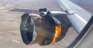 Passengers traumatized by in-flight fiery loss of engine sue United Airlines