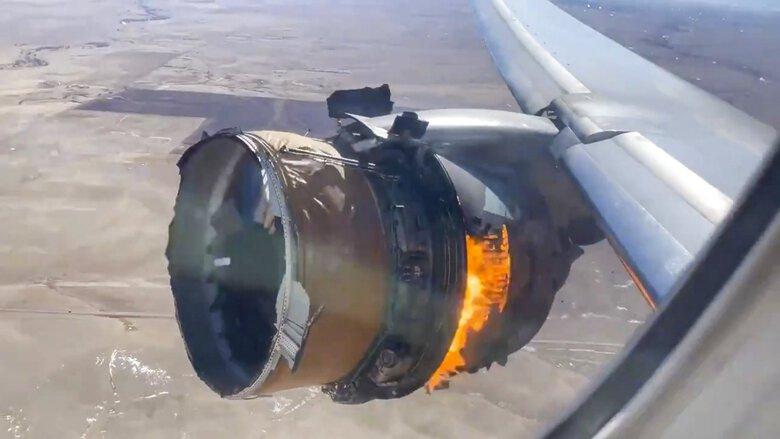 مسافراني كه در اثر از دست دادن آتشدان موتور حين پرواز آسيب ديده اند از شركت هواپيمايي يونايتد شکايت كردند