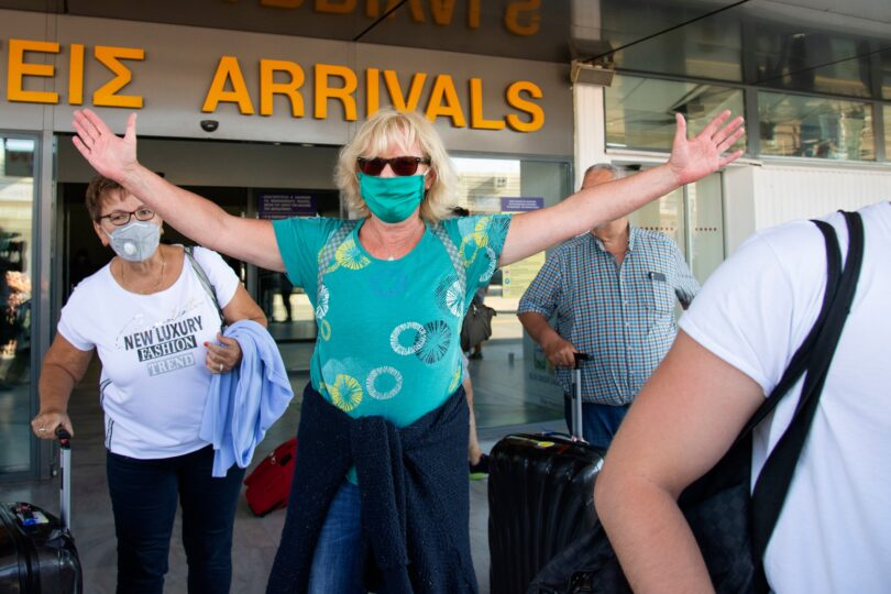 Grækenland ophæver karantænekravet for turister fra 32 lande