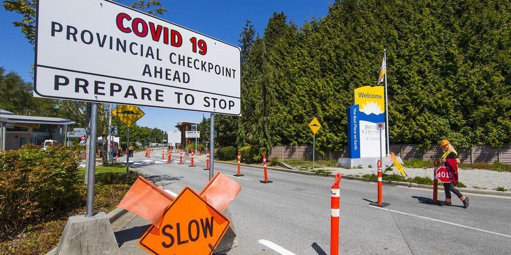 Ontário do Canadá instalando pontos de controle de fronteira COVID-19 para impedir viajantes não essenciais