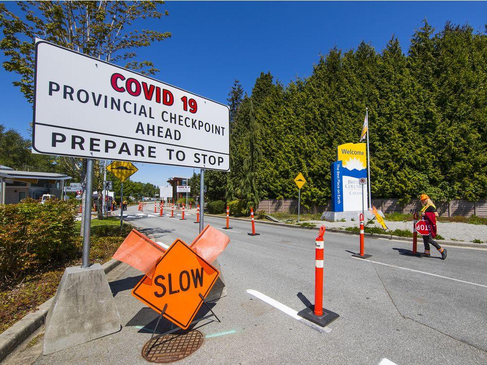 Канада ў Антарыё стварае памежны пункт пропуску COVID-19, каб спыняць неістотных падарожнікаў