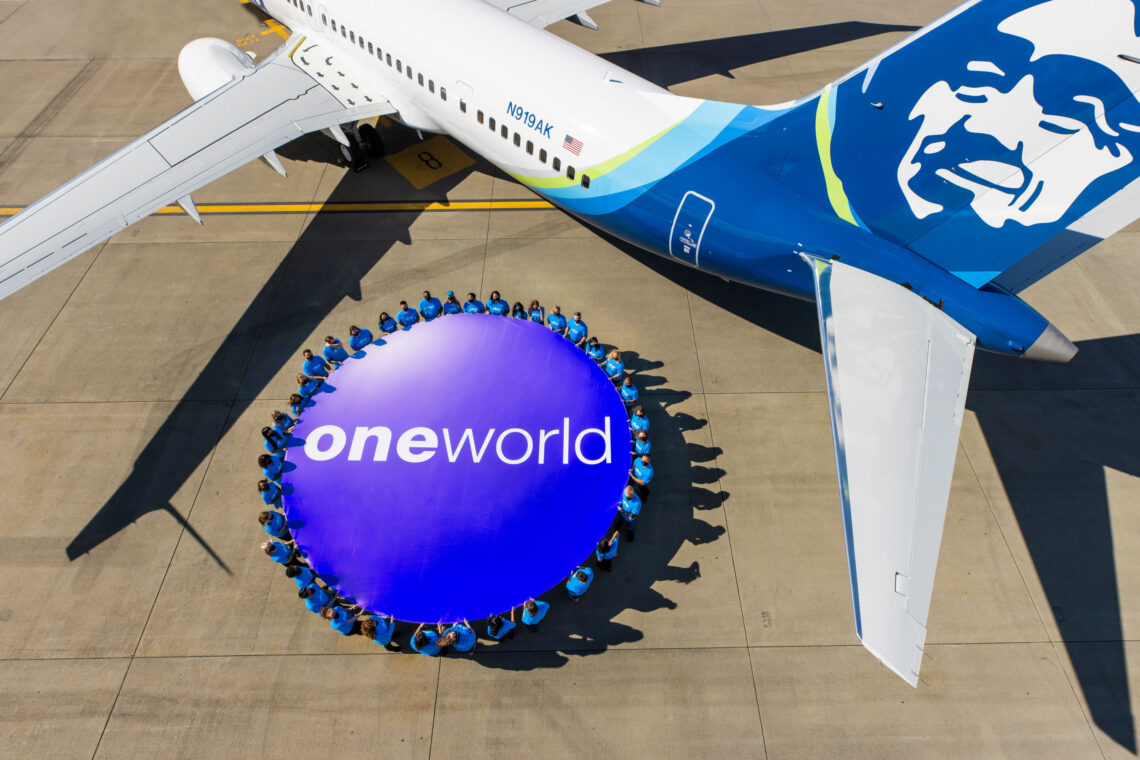 تنضم خطوط ألاسكا الجوية رسميًا إلى تحالف oneworld