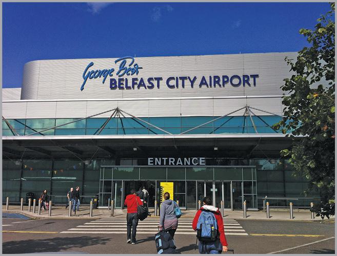 COVID testsintrum iepent op Belfast City Airport