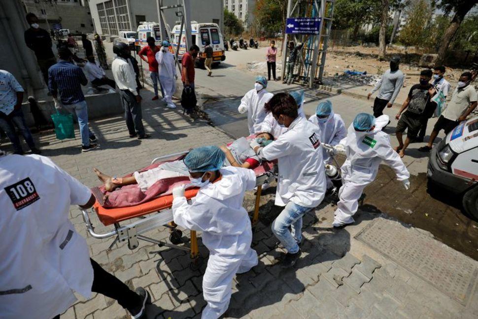 Hindistan, son 19 saatte 314,835 yeni vaka ile dünyanın günlük COVID-24 rekorunu kırdı