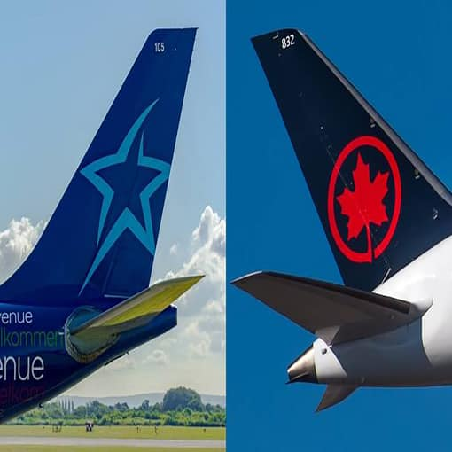 Air Canada et Transat résilient le projet de convention d'acquisition