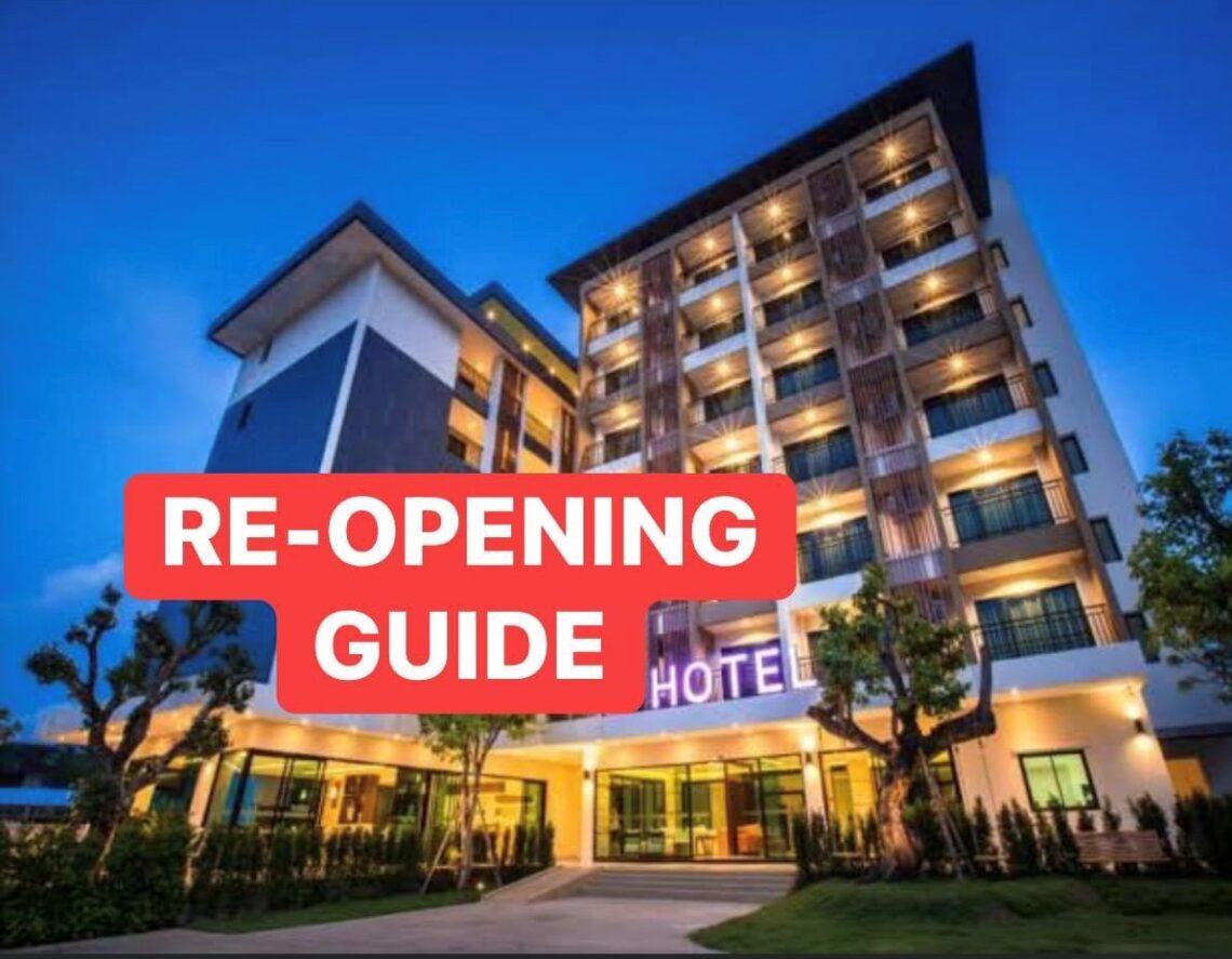 الطريق إلى إعادة فتح أبواب الفندق - دليل