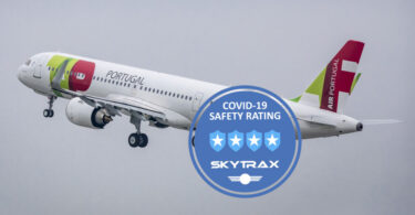 TAP Air Portugal receives four-star COVID-19 Airline Safety Rating
