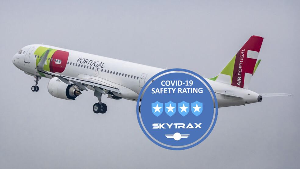 TAP Air Portugal menerima Peringkat Keselamatan Maskapai COVID-19 bintang empat