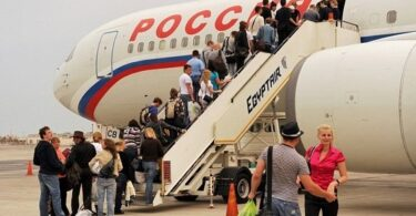 مصر اور روس ممالک کے مابین مسافر طے شدہ پروازیں دوبارہ شروع کرنے پر متفق ہیں