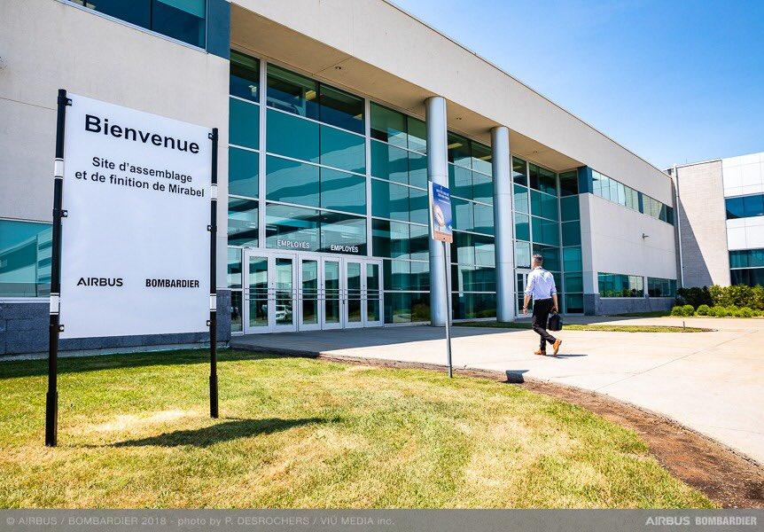 Airbus Canada адкрые цэнтр вакцынацыі ў Мірабеле
