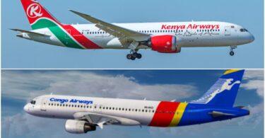 Kenya Airways, Congo Airways ile ortak uçuş anlaşması imzaladı