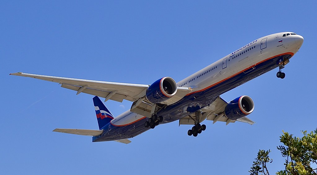 Russian Aeroflot lancia u serviziu à a località custiera cubana di Varadero