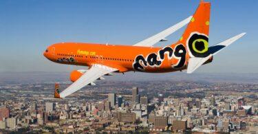 Cuireann Mango Airlines na hAfraice Theas gach eitilt ar fionraí